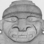 Figure Anthopomorphe - San Agustin, Colombie 1988