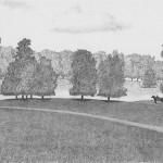 Chevalier, Hyde Park Corner - Londres, 1985 (collection privée)
