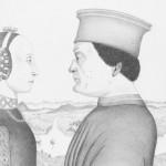 Fréderic de Montefeltro et Batista Sforza, d'après Piero della Francesca, (1460/1470), les Offices Florence, 2001