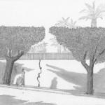 Près du Minzah, Tanger 1986